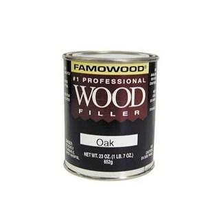 FA21122 1 Pint Mahogany Wood Putty