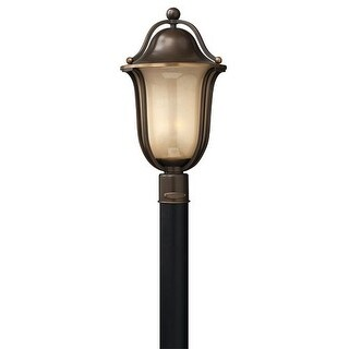 Hinkley Lighting 2631-LED 1 Light LED Post Light from the Bolla Collection