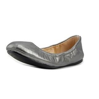 Vince Camuto Elanora Women Round Toe Leather Gray Flats