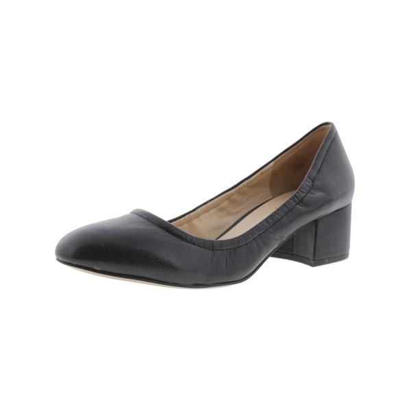 Franco Sarto Womens Fausta Block Heels Round Toe Dress