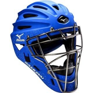 Mizuno Samurai Fastpitch Catcher's Helmet|https://ak1.ostkcdn.com/images/products/is/images/direct/ebc9dfe3fb2ad7880101a0f3d17e2bbdebbcf097/Mizuno-Samurai-Fastpitch-Catcher%27s-Helmet.jpg?impolicy=medium