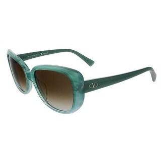 Valentino V644S Rectangular Valentino Sunglasses
