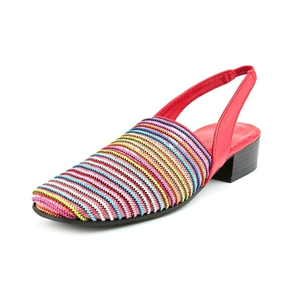 Karen Scott Carol   Round Toe Synthetic  Slingback Heel