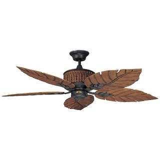 """Concord 52FEB5 Indoor/Outdoor 5 Blade 52"""" Ceiling Fan - Blades and Down Rod Incl"""