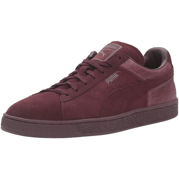 Shop PUMA Men's Suede Classic Casual Emboss Fashion Sneaker