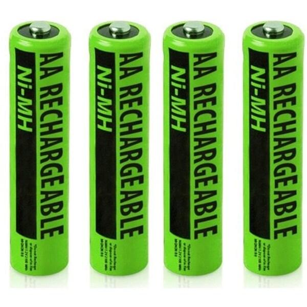 NIMHAAA (4-Pack) NiMh AAA Batteries 2-Pack