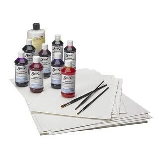 Sax Liquid Watercolor Paint, 8 Ounces, Assorted Colors, Set of 8