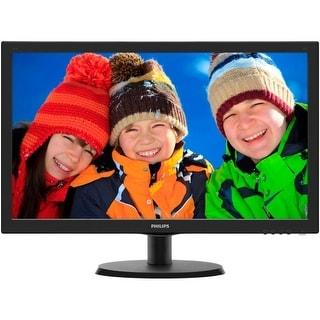 "Philips 223V5LSB/00 Philips V-line 223V5LSB 21.5"" LED LCD Monitor - 16:9 - 5 ms - Adjustable Display Angle - 1920 x 1080 -"