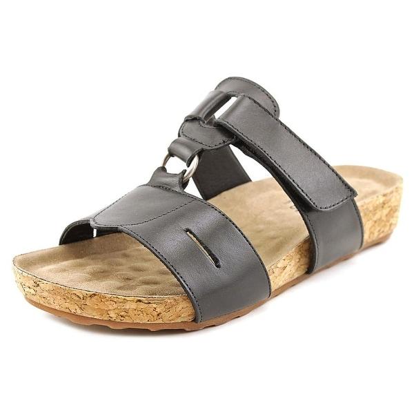 Walking Cradles Penny Black Sandals