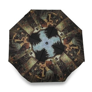Charming `Sweet Roses` Super Mini Travel Umbrella
