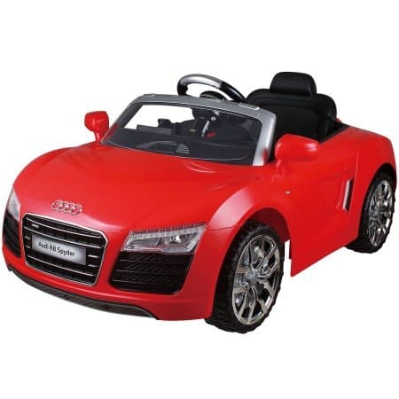 Costway Red Audi Kids 12V Electric Ride On Car With MP3 RC Remote