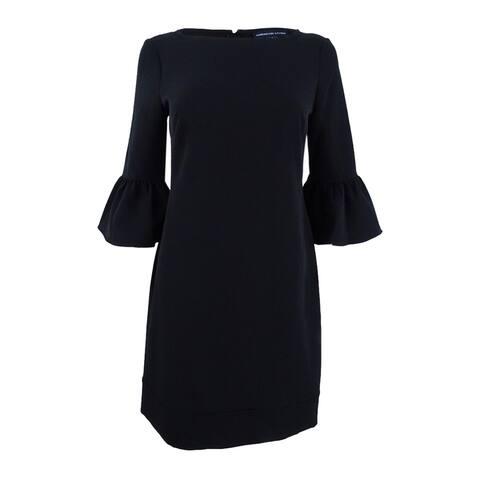 American Living Women's Bell-Sleeve Crepe Dress