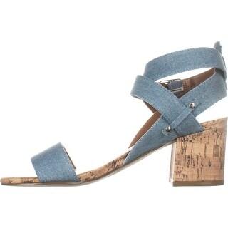 Indigo Rd. Womens Elea3 Fabric Open Toe Casual Ankle Strap Sandals