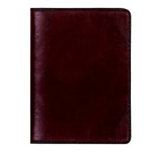 Scully Planner Italian Leather Ruled Desk Journal