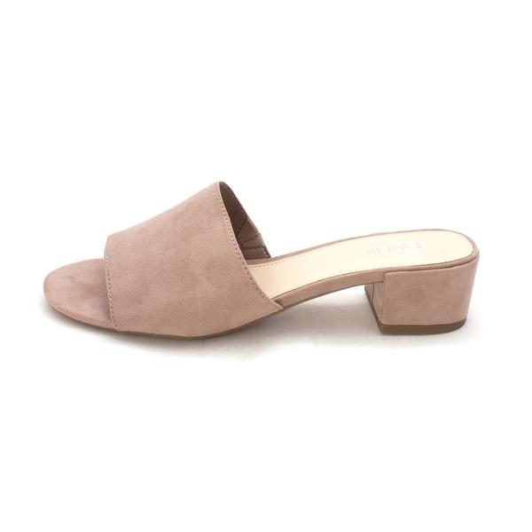 Bar III Womens Jane Open Toe Casual Mule Sandals