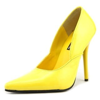 Pleaser Milan 1 Pointed Toe Synthetic Heels