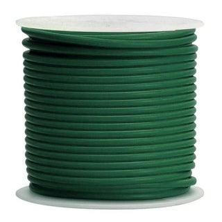 Coleman Cable 10-100-15 Primary Wire, 10-Gauge, 100-Feet Bulk Spool, Green