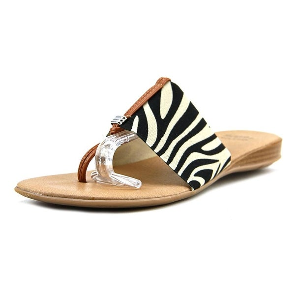 910d520ad9b9 Shop Andre Assous Nice Women Zebra Sandals - Free Shipping On Orders ...