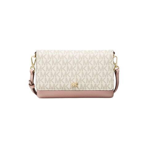 MICHAEL Michael Kors Phone Crossbody Vanilla Soft Pink