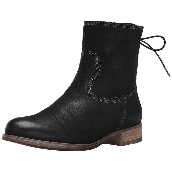Josef Seibel Womens Sienna 01 Leather Round Toe Ankle Fashion Boots