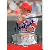 Ray Knight Autographed Baseball Card - Cincinnati Reds 2004 Upper