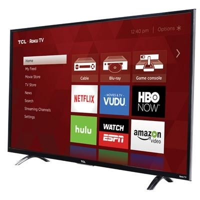 Tcl 43Up130 43-Inch 4K Ultra Hd Led Tv With Enhanced Remote