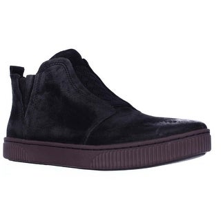 Born Rorey Laceless High Top Fashion Sneakers - Black