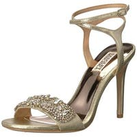 BADGLEY MISCHKA Womens hailey Open Toe Casual Ankle Strap Sandals