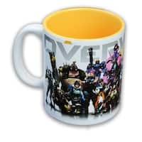 Overwatch Heroes/ Inside Color 16oz Coffee Mug - Multi