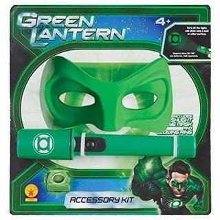 Green Lantern Costume Kit Mask & Flashlight