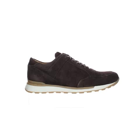 Brothers United Mens Buadonis Brs Brown Kid Suede Fashion Sneaker Size 7