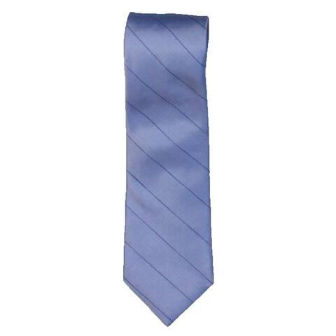 Calvin Klein Mens Neck Tie Silk Professional - Blue - O/S