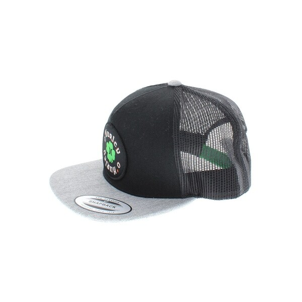 0692ef3c7fd80 Shop Hurley Mens Fight This Trucker Hat Colorblock Applique - o s - Free  Shipping On Orders Over  45 - Overstock - 22854209