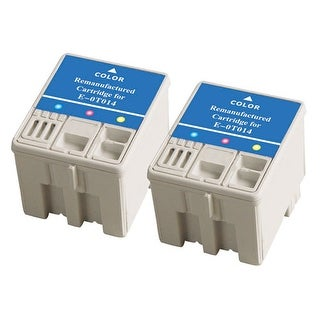 Replacement Ink For Epson T014201 / E-0T014 (2-Pack)
