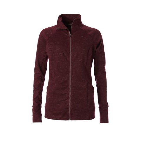 Royal Robbins Purple Womens Size Large L Zip Front Ponte Jacket