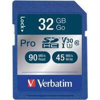 Verbatim(R) 98047 Pro 600x SDHC(TM) Card (32GB)