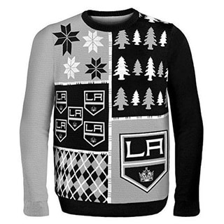Los Angeles Kings NHL Busy Block Ugly Sweater