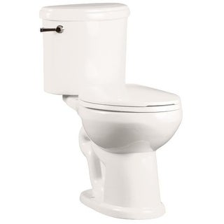 "Mirabelle MIRPR200 Provincetown 1.28 GPF Toilet Tank Only with 12"" Rough In - Left Hand Trip Lever"