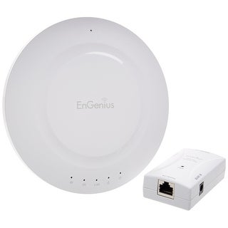 Engenius Technologies Extra Long-Range Dual-Band Wireless-N Ap With Gigabit Poe Injector (N-Eap600 Kit)