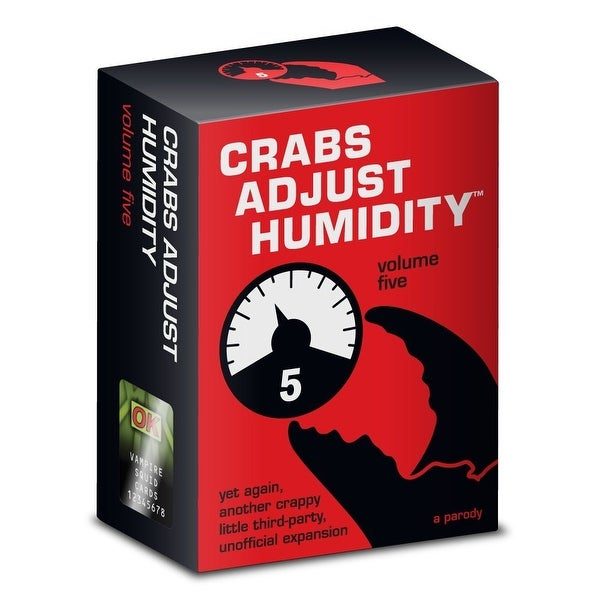 Crabs Adjust Humidity Card Game Volume Five - multi