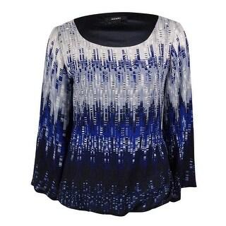 Alfani Women's Studded Bell-Sleeves Bubble Top - 4