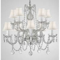 Swarovski Crystal Trimmed Crystal Chandelier Lighting