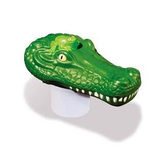 "13.5"" Clori-Gator Alligator Head Swimming Pool Floating Chlorine Dispenser"