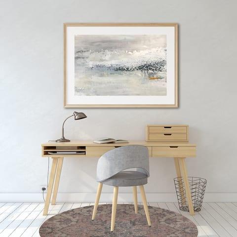 SERAPI BLUSH Office Mat By Kavka Designs