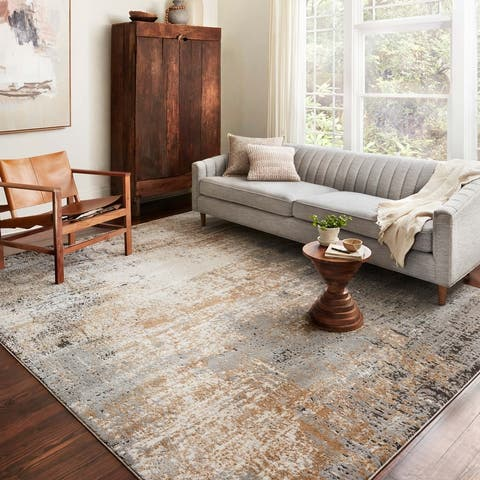 Alexander Home Charlotte Modern Abstract Area Rug