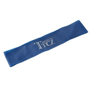 Sports Rubber Stretchy Resistance Band Pull up Training Assistance Loop Blue