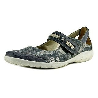 Remonte Riemchen Women  Round Toe Synthetic Blue Mary Janes