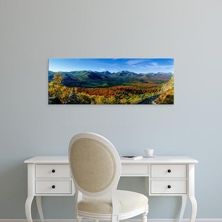 Easy Art Prints Panoramic Images's 'USA, New York, Adirondacks' Premium Canvas Art