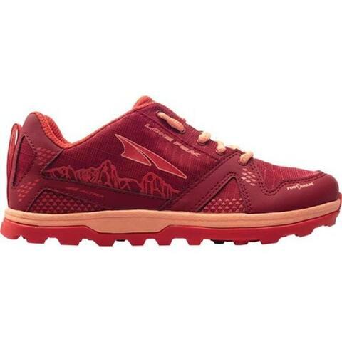 Altra Footwear Children's Youth Lone Peak Sneaker Poppy
