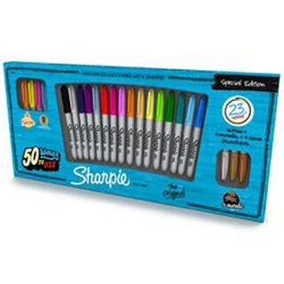 Sharpie Fine Point Special Edition Permanent Markers 23/Pkg-